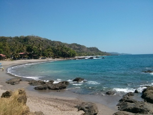 Beach of Montezuma, Costa Rica