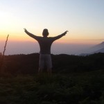 mount-prau-sunrise
