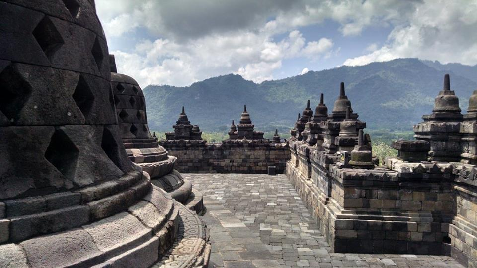 Borobudur, the world's largest Buddhist temple