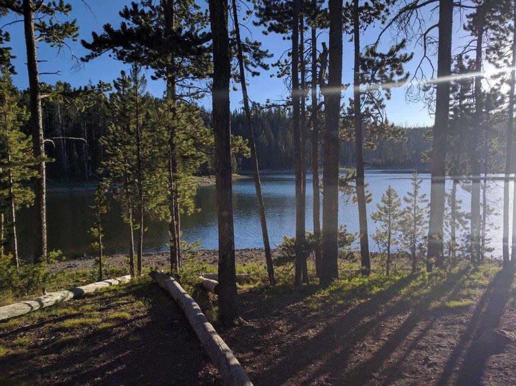 Mallard Lake in Yellowstone