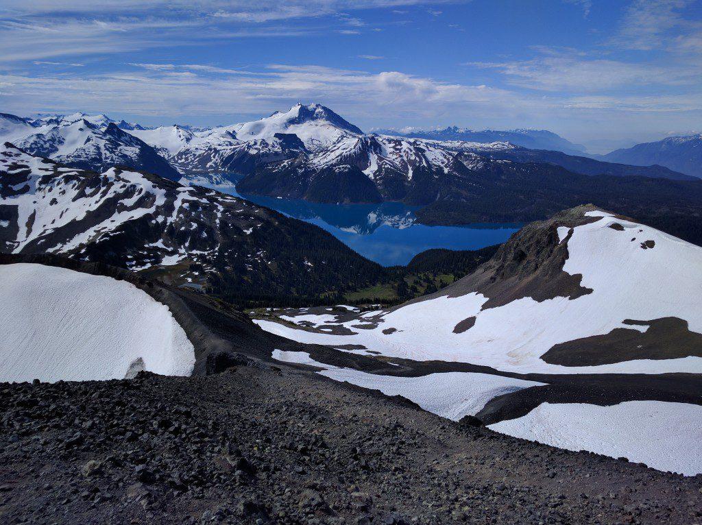 View of Lake Garibaldi from the Black Tusk