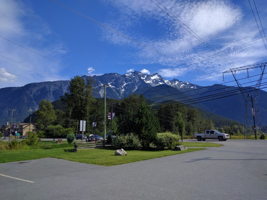 View from Peddleton, BC