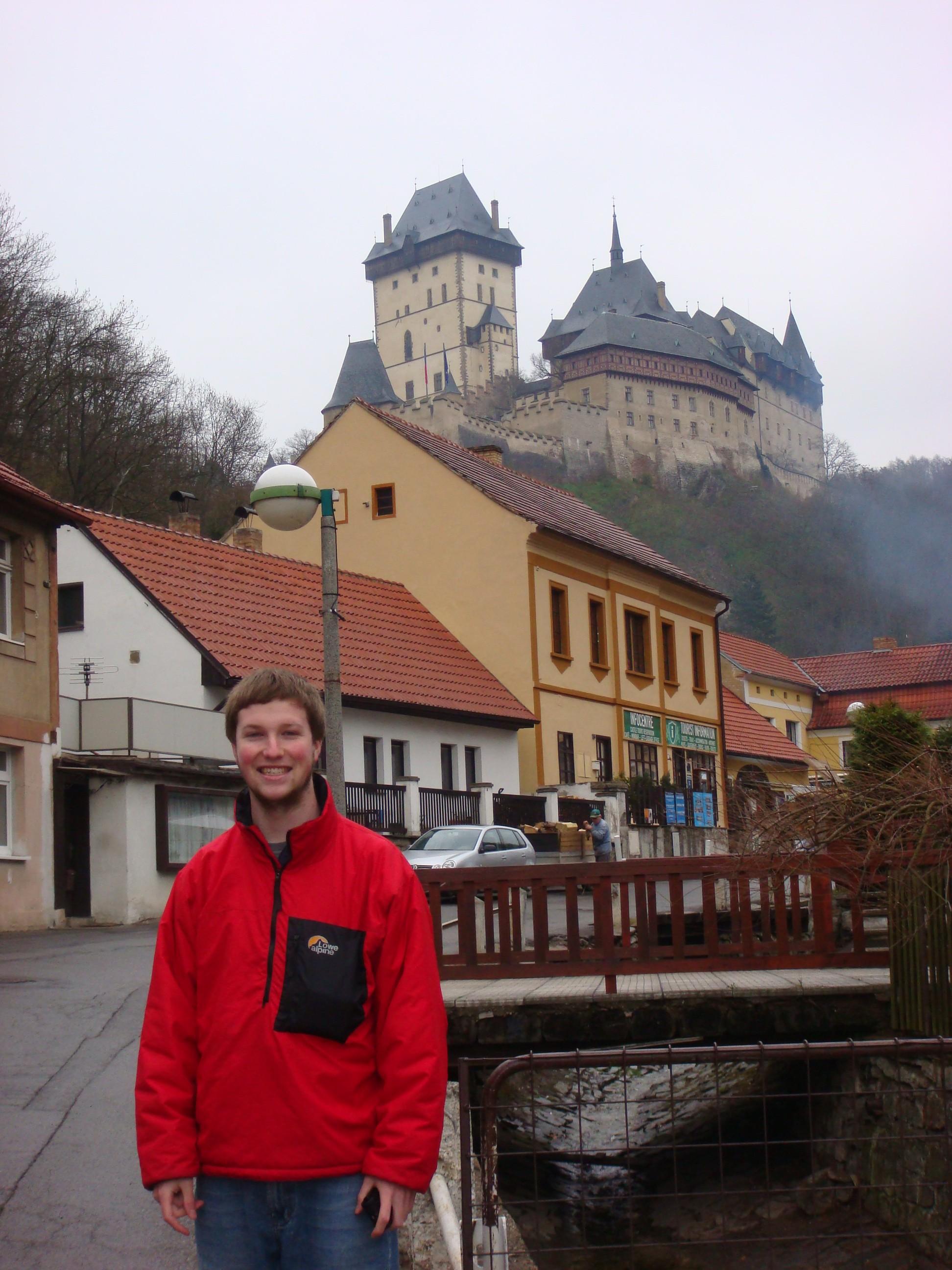 Castle outside of Prague, Czech Republic