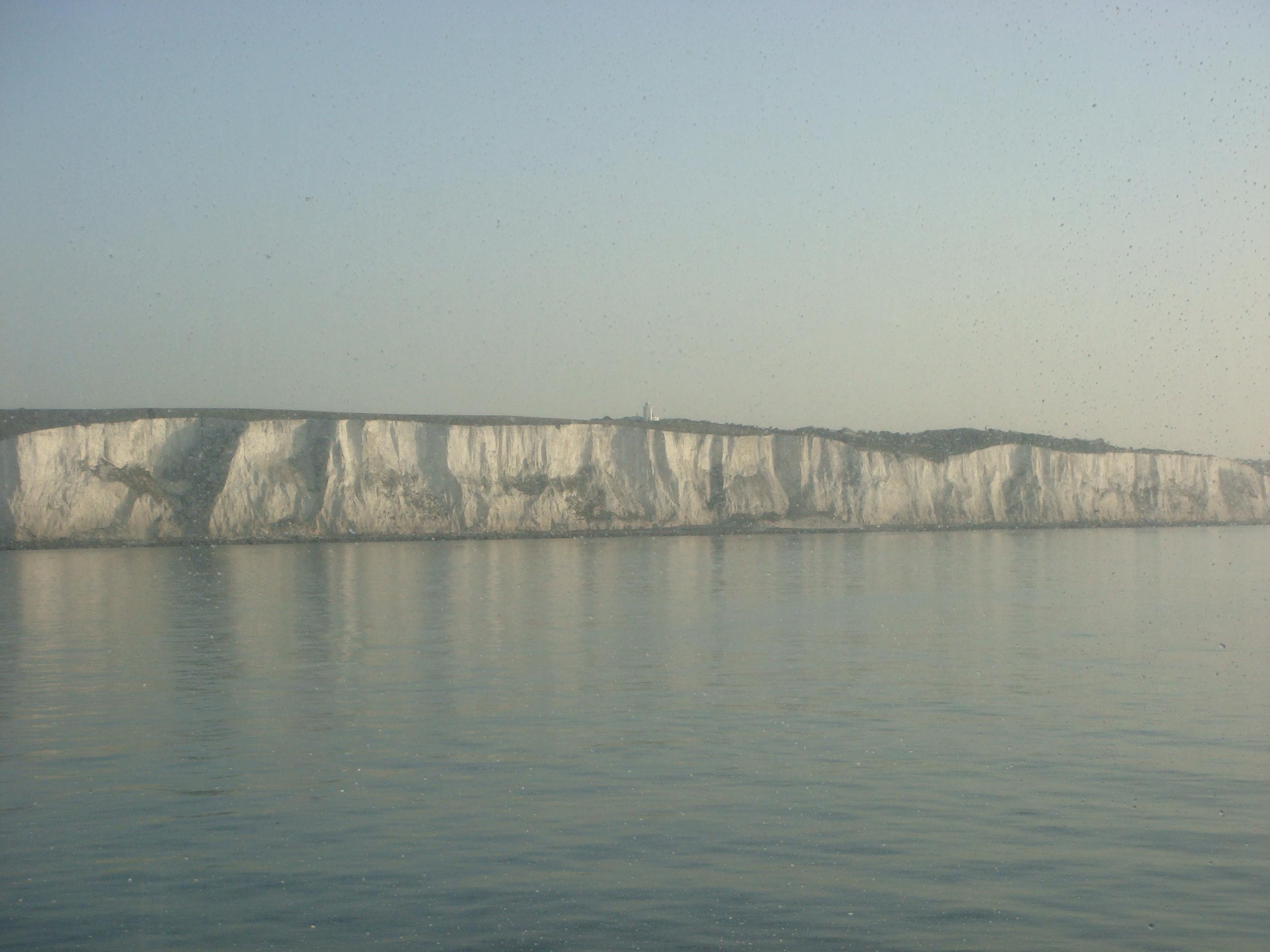 The coast of England near Dover