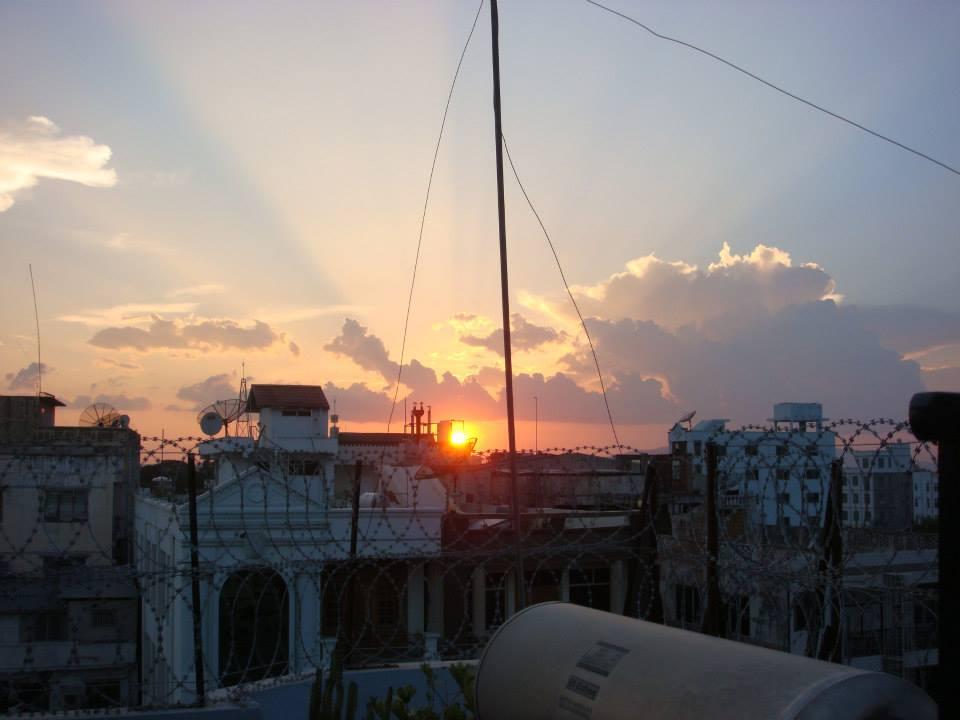 Last sunset in Myanmar.