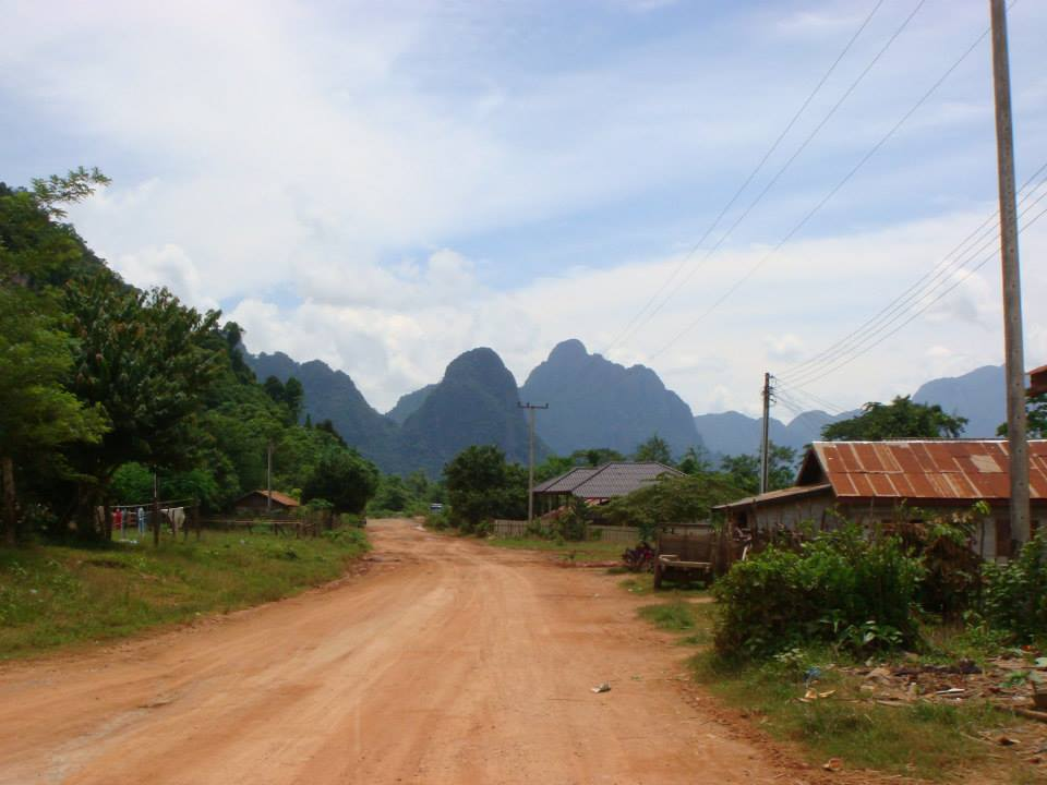 middle of Laos