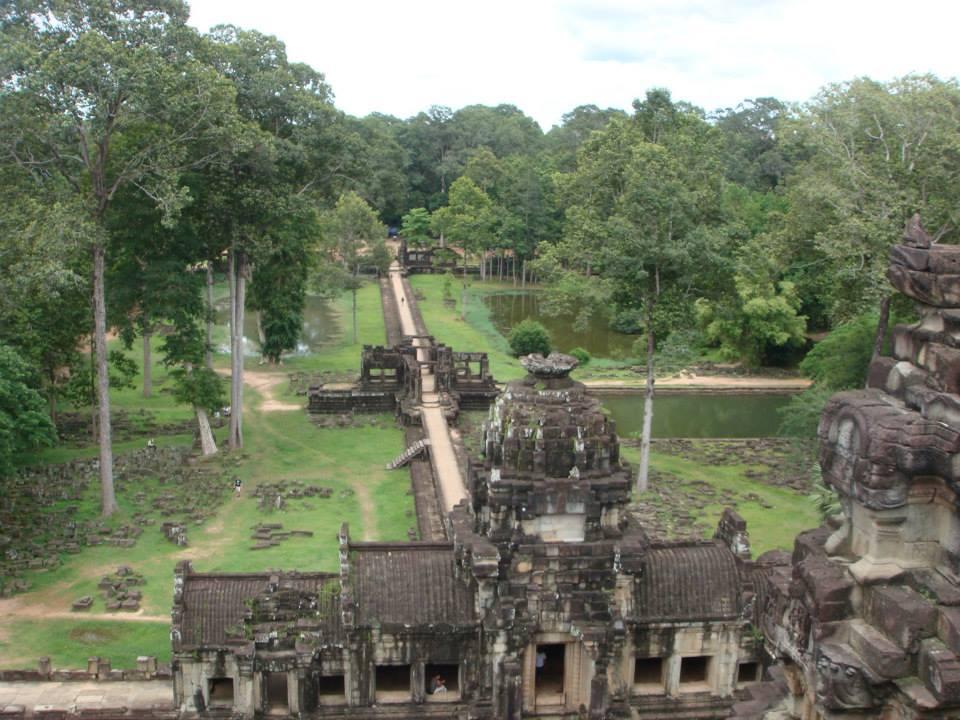 Inside Angkor Wat - near Siem Reap, Cambodia