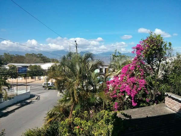 Beautiful day in Comayagua, Honduras