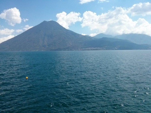 Lake Atitlan in April