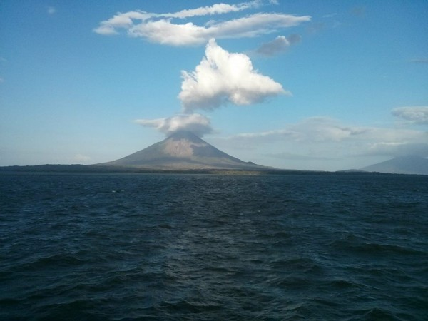 Ometepe from mainland Nicaragua.