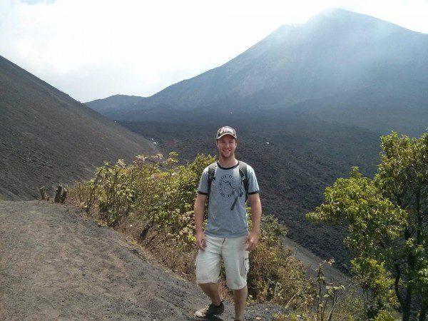Pacaya Volcano near Guatemala City