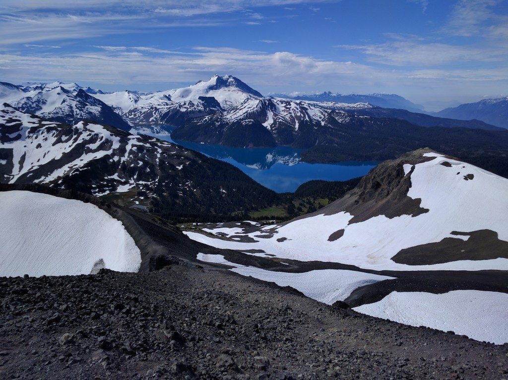 View of Lake Garibaldi from the Black Tusk