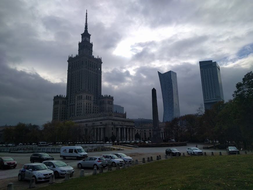 Central Warsaw has some really cool architecture as well.